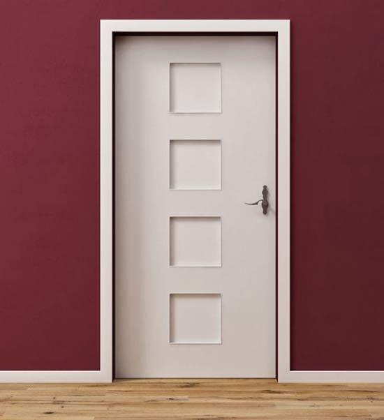 Opaska drzwiowa maskująca drzwi futryny - Listwy ozdobne na drzwi wewnętrzne efektowne obramowanie