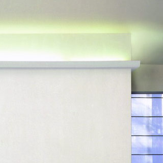 Listwa oświetleniowa w salonie C357
