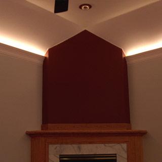 Listwa oświetleniowa LO10 w salonie