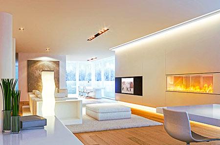 Listwy oświetleniowe - Listwy LEDowe - oświetlenie sufitowe