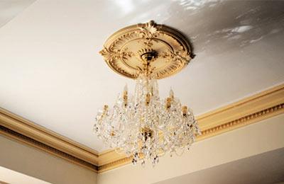 ozdobne rozety sufitowe styropianowe - Rozety dekoracyjne sufitowe