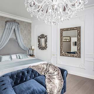 Biała sypialnia galeria