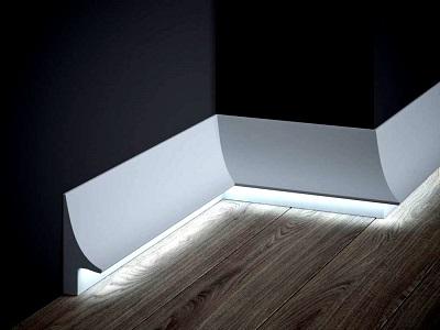 Listwy przypodłogowe LED - oświetlenie przypodłogowe