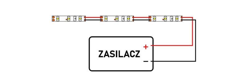 Jak łączyć taśmy LED szeregowo czy równolegle