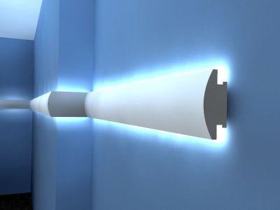 Montaż taśmy LED na ścianie