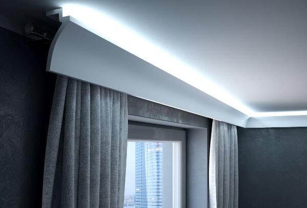 Nowoczesne oświetlenie sufitowe LED
