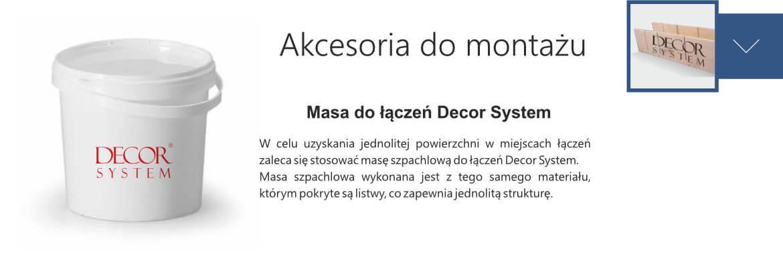 masa do maskowania łączeń Decor System