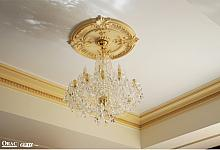 dekoracja sufitu - rozeta