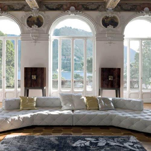 Dekoracja okien w stylu pałacowym